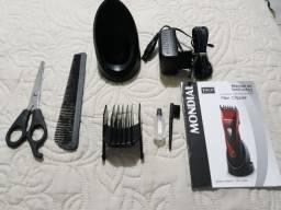Máquina de Cabelo e Barba Mondial