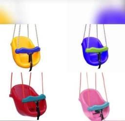 balanço bebê várias cores