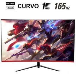 Monitor Gamer HQ Curvo 31.5 Pol, Full HD, 165Hz, 1ms, HDMI, Display Port<br><br>