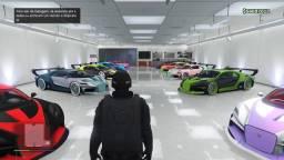 Conta de PS4, GTA Online milionária, Rainbow six, PES 2021 etc...