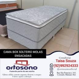 Cama box solteiro cama box