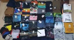 Estoque de roupas masculinas para loja