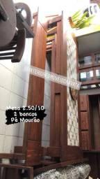 Móveis de qualidade madeira angelin pedra  maciça