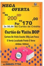 Cartão de Visita BOP