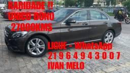 Mercedes C180 2015 Falar C/ Ivan Melo Concessionária na Barra