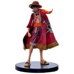 Luffy Chapéu De Palha Boneco One Piece Action Figure 17cm