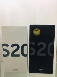 """Samsung Galaxy S20 FE Branco, Tela 6,5"""", 4G, 128GB, Lacrado, Garantia"""