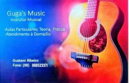 Aulas particulares de instrumentos musicais?????