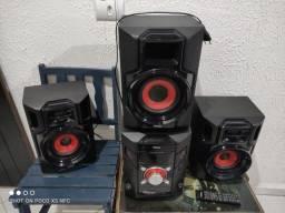 Mini System Philco modelo PH800 120W RMS - Aceito Trocas