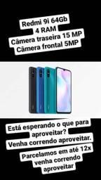 Xiaomi Redmi 9i 64GB Verde/Azul/Preto Leia a Descrição *