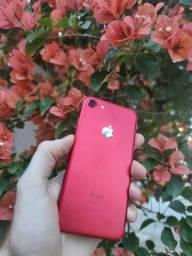 iPhone 7 128GB Red - Excelente! Com Garantia