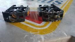 Par de pedal em alumínio (rosca grossa) - Mtb