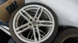 Rodas Originais Porsche Macan furação 5x112 Golf, Passat, Jetta, Audi A4, A6