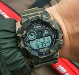 Relógio Casio G-Shock camuflado