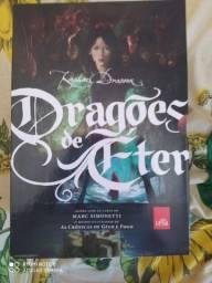 Box de livros da coleção Dragões de Éter