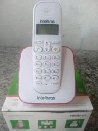 Telefone sem fio digital para linha fixa