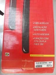 Vendo Calha de Chuva Acrílico Fumê p/ D-20 2p ou 4p. Nova na Caixa.