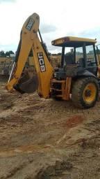 Retro escavadeira hidráulica