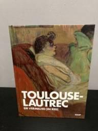 Livro Em Vermelho (In Red) - Toulouse-Lautrec
