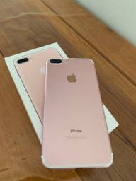 iPhone 7 PLUS IMPECÁVEL (aceito trocas)