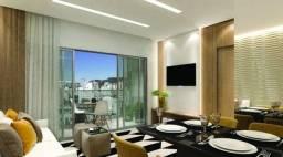Cobertura 2 quartos, 1 suite, 2 banhos, 2 vagas com Lazer completo - Bairro Buritis
