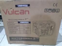Motobomba autoescorvante de alta pressão 2' Vulcan VMB-552H. Nova (na caixa)