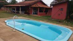 Chácara com casa e piscina na reunidas em pilar do sul