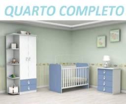 Grande Oferta!!Lindo Kit Quarto Completo(Roupeiro+Berço+Comoda)899,00