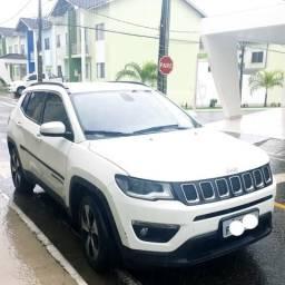 Vendo Jeep compass longitude 2.0 4x2 Flex 16v automático 33 mil quilômetros rodados - 2018