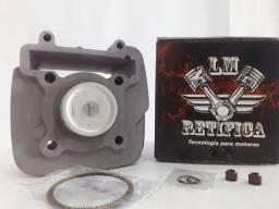 Cilindro Motor Kit Yamaha Crypton 115 2009 Até 2016 Std