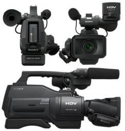 Grava nos padrões DV e HDV (1080/60i) em fitas Mini-DV