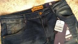 Calças jeans original trazida dos EUA