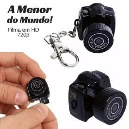 Mini Câmera Espiã Filmadora Chaveiro Pronta Entrega