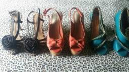 Vendo essas três sandalias n 35