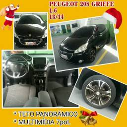 "Peugeot 208 griffe 13/14 1.6 ""completo"" - 2014"