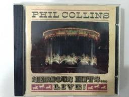 Cd Phill Collins - Serious Hits Live Original