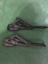 Esticador para puxar cabo de alumínio com garras