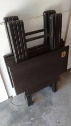 Mesas e cadeiras Pra vender esse final de semana!!!