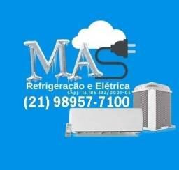 I. Eletricista, Refrigeração, Infra estrutura, Tubulação, Ar Condicionados, Split, Janela,