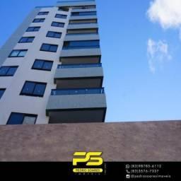 Apartamento com 2 dormitórios à venda, 50 m² por R$ 380.000 - Cabo Branco - João Pessoa/PB