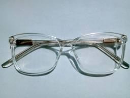 Armação Óculos Grau transparente jre