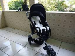 Carrinho de bebê, bebê conforto e adaptador  ABC Design 3 Tec