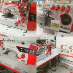 Máquinas de costura industrial direct drive Novas até 12 x cartão