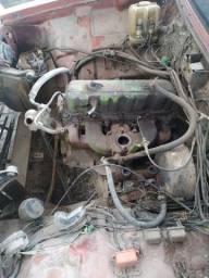 Motor Opala 4cil (funcionando)