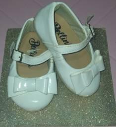 Lote de sapato de menina