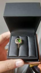 Anel Romanel Verde