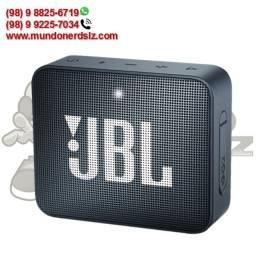 Caixa de Som Portátil com Bluetooth 4.1 À Prova D'Água Azul Jbl GO2 em São Luís Ma