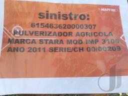 Pulverizador Agrícola Marca Stara Mod. IMP 3100 ANO 2011
