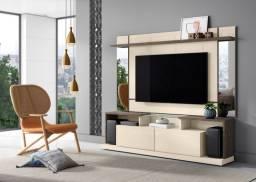 Painel + rack pra tvs de até 65 polegadas promoção relâmpago