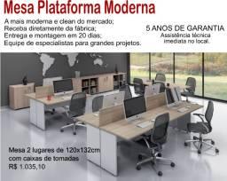 Mesa Plataforma moderna RJ - Aqplan